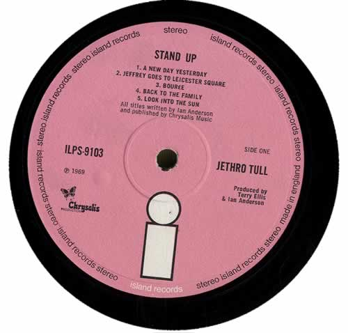 Jethro Tull Stand Up - 3rd - EX vinyl LP album (LP record) UK TULLPST564618