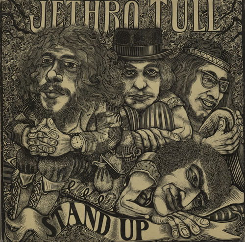 Jethro Tull Stand Up - Green Label vinyl LP album (LP record) UK TULLPST285769