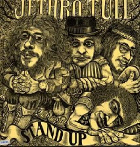 Jethro Tull Stand Up - Pink Label - Pop-up Slv vinyl LP album (LP record) German TULLPST63524