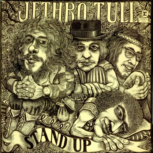 Jethro Tull Stand Up - Tan label - Pop Up Sleeve vinyl LP album (LP record) US TULLPST126520
