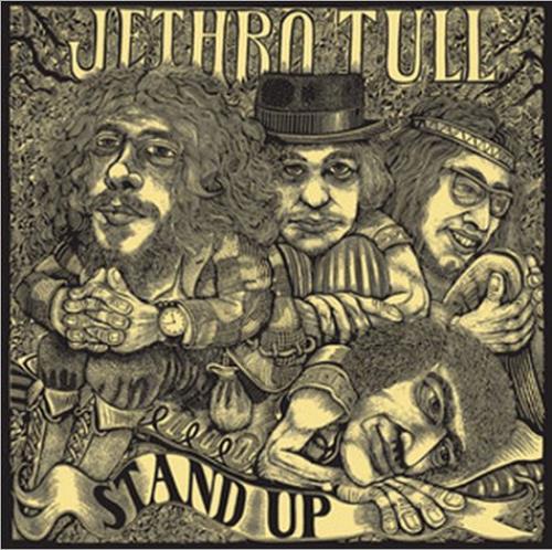 Jethro Tull Stand Up 3-disc CD/DVD Set UK TUL3DST516022