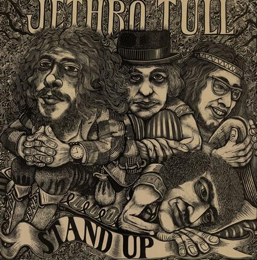 Jethro Tull Stand Up vinyl LP album (LP record) UK TULLPST569519
