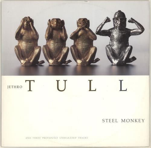 "Jethro Tull Steel Monkey 12"" vinyl single (12 inch record / Maxi-single) UK TUL12ST128745"