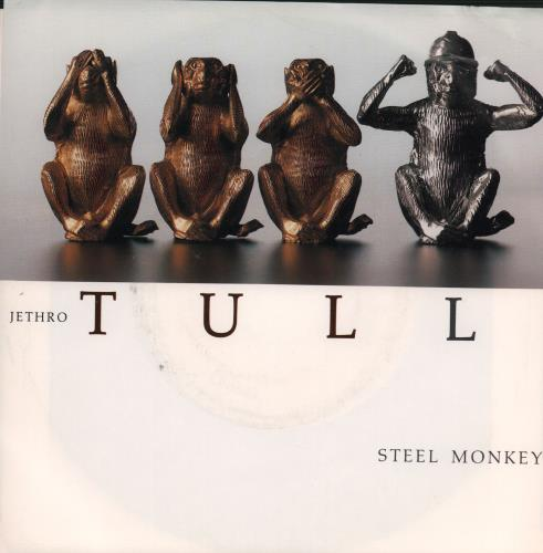 "Jethro Tull Steel Monkey 7"" vinyl single (7 inch record) Canadian TUL07ST485619"