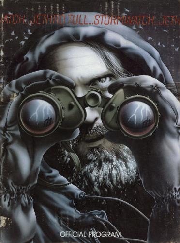 Jethro Tull Stormwatch tour programme UK TULTRST140526