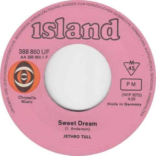 "Jethro Tull Sweet Dream 7"" vinyl single (7 inch record) German TUL07SW128478"