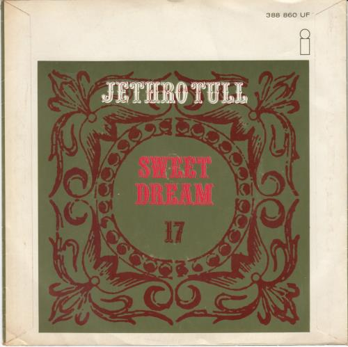 "Jethro Tull Sweet Dream 7"" vinyl single (7 inch record) Dutch TUL07SW77920"