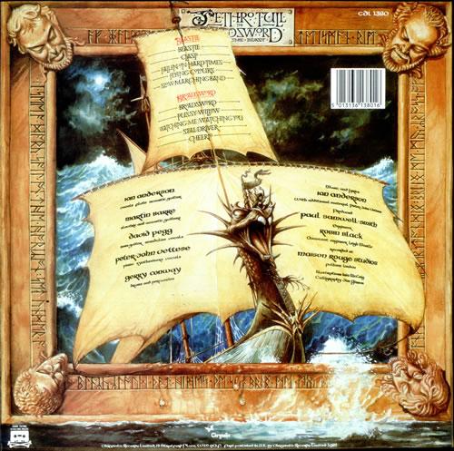 Jethro Tull The Broadsword And The Beast - EX vinyl LP album (LP record) UK TULLPTH299308