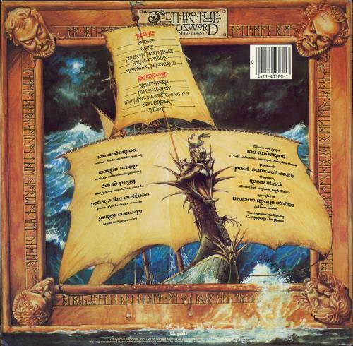 Jethro Tull The Broadsword And The Beast vinyl LP album (LP record) US TULLPTH768872