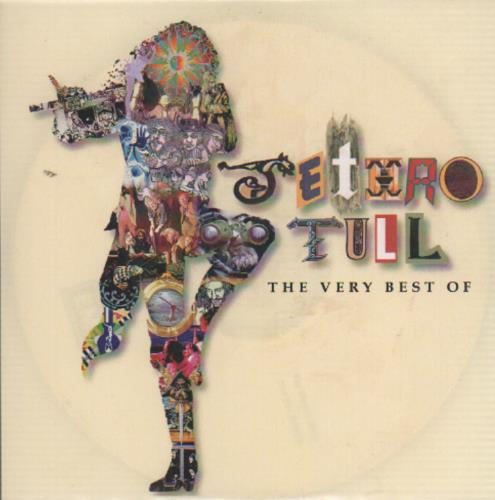 Jethro Tull The Very Best Of CD-R acetate UK TULCRTH186039