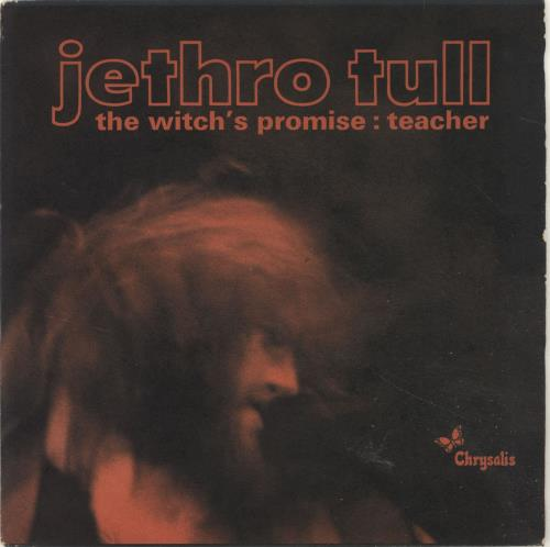 """Jethro Tull The Witch's Promise - 1st - P/S - EX 7"""" vinyl single (7 inch record) UK TUL07TH694909"""