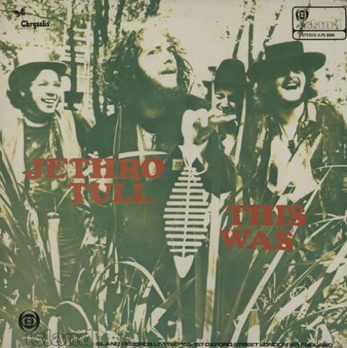 Jethro Tull This Was - 1st - VG vinyl LP album (LP record) UK TULLPTH582057