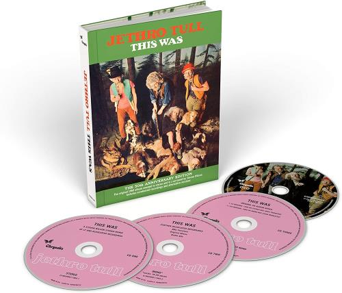 Jethro Tull This Was: 50th Anniversary - Sealed 4-CD album set UK TUL4CTH739501