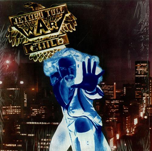 Jethro Tull War Child vinyl LP album (LP record) US TULLPWA129590