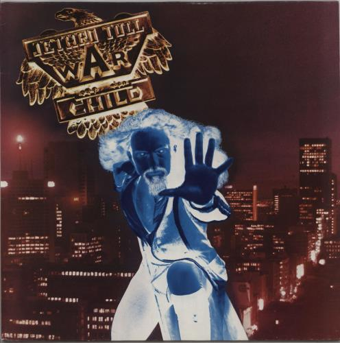 Jethro Tull War Child vinyl LP album (LP record) German TULLPWA756559