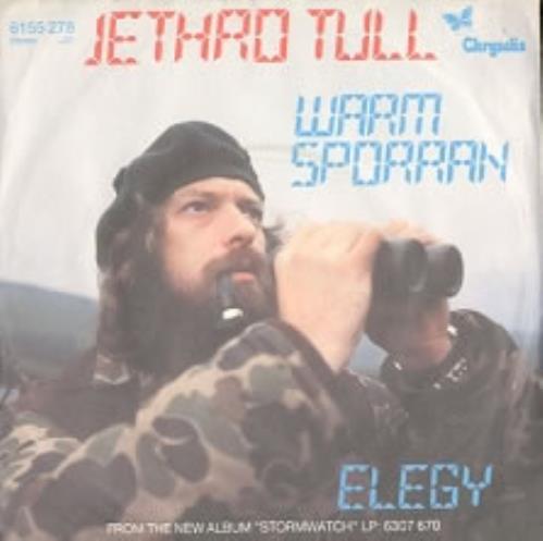 "Jethro Tull Warm Sporran 7"" vinyl single (7 inch record) German TUL07WA170835"