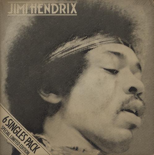 """Jimi Hendrix 6 Singles Pack 7"""" box set UK HEN7XSI13542"""