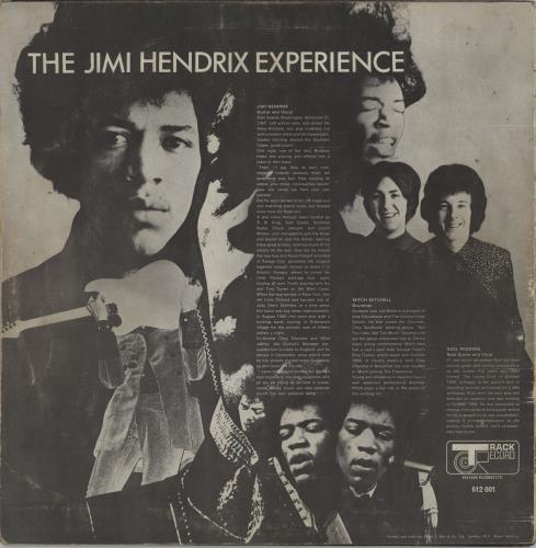 Jimi Hendrix Are You Experienced - 1st - G vinyl LP album (LP record) UK HENLPAR618982
