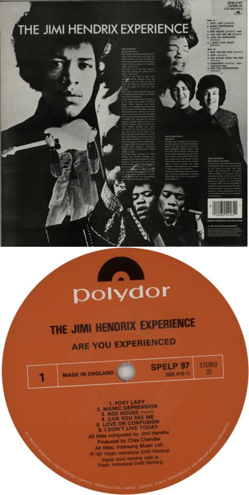 Jimi Hendrix Are You Experienced - barcoded p/s vinyl LP album (LP record) UK HENLPAR408066