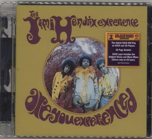 Jimi Hendrix Are You Experienced - Hybrid SACD super audio CD SACD US HENSAAR760312