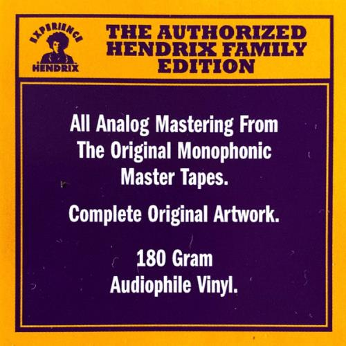 Jimi Hendrix Are You Experienced - Mono Edition - Remastered vinyl LP album (LP record) UK HENLPAR768700