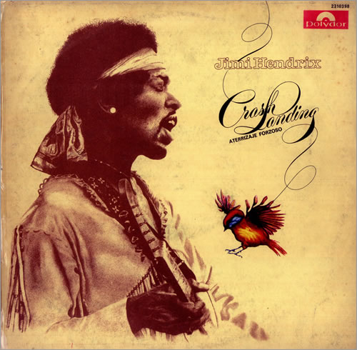 Jimi Hendrix Aterrizaje Forzoso - Crash Landing vinyl LP album (LP record) Argentinean HENLPAT443132