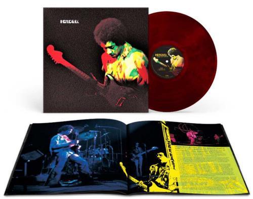 Jimi Hendrix Band Of Gypsys - 50th Anniversary - Red Marbled Vinyl vinyl LP album (LP record) UK HENLPBA746463