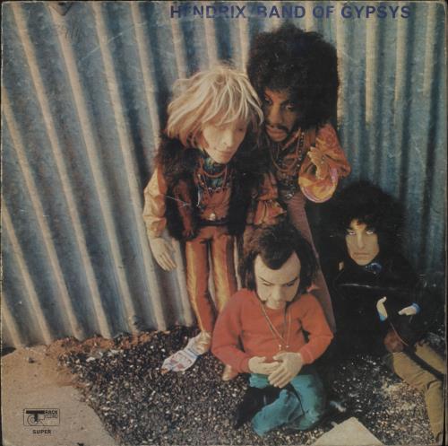 Jimi Hendrix Band Of Gypsys - Puppet - VG/EX vinyl LP album (LP record) UK HENLPBA434356