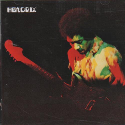 Jimi Hendrix Band Of Gypsys CD album (CDLP) UK HENCDBA498208