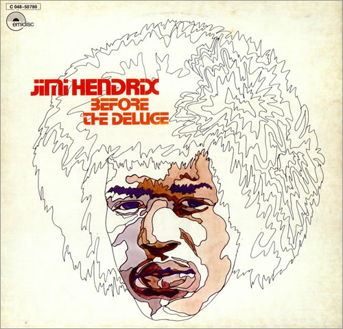 Jimi Hendrix Before The Deluge vinyl LP album (LP record) German HENLPBE443125