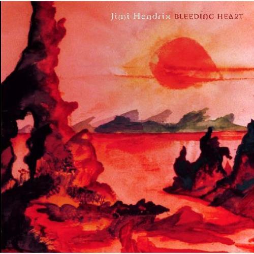 "Jimi Hendrix Bleeding Heart - Sealed 7"" vinyl single (7 inch record) UK HEN07BL499335"