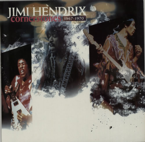 Jimi Hendrix Cornerstones vinyl LP album (LP record) UK HENLPCO206251