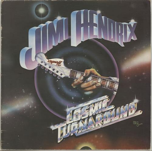 Jimi Hendrix Cosmic Turnaround - EX vinyl LP album (LP record) UK HENLPCO666380