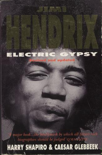 Jimi Hendrix Electric Gypsy book UK HENBKEL693000