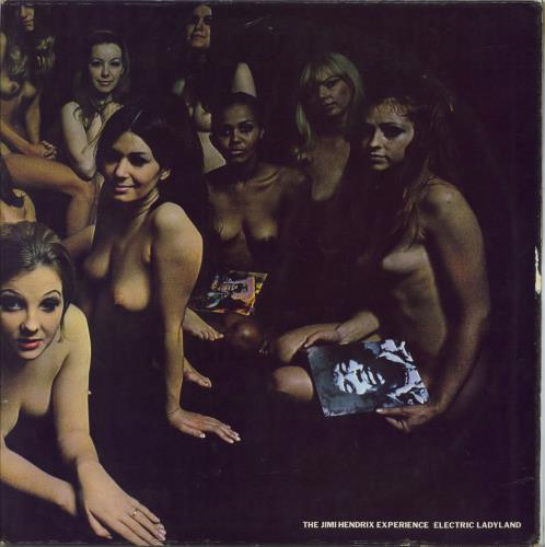Jimi Hendrix Electric Ladyland - 1st - VG 2-LP vinyl record set (Double Album) UK HEN2LEL603132