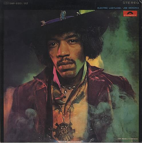 Jimi Hendrix Electric Ladyland - 1st 2-LP vinyl record set (Double Album) Japanese HEN2LEL397035