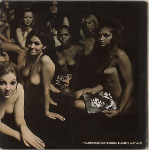 Jimi Hendrix Electric Ladyland - 2nd - VG 2-LP vinyl record set (Double Album) UK HEN2LEL582535