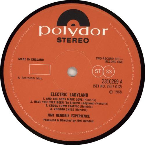 Jimi Hendrix Electric Ladyland - Fully Laminated - EX 2-LP vinyl record set (Double Album) UK HEN2LEL664282