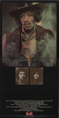 Jimi Hendrix Electric Ladyland - Laminated 2-LP vinyl record set (Double Album) UK HEN2LEL257448