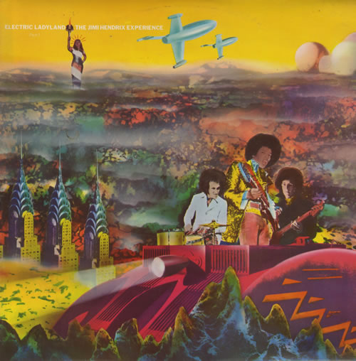 Jimi Hendrix Electric Ladyland - Parts 1 & 2 2-LP vinyl record set (Double Album) UK HEN2LEL522247