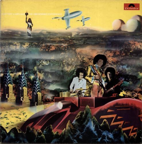 Jimi Hendrix Electric Ladyland Part 1 & 2 2-LP vinyl record set (Double Album) UK HEN2LEL704418