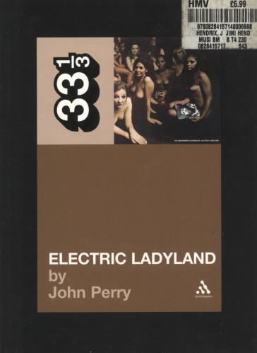 Jimi Hendrix Electric Ladyland book UK HENBKEL375813