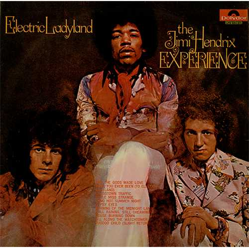 Jimi Hendrix Electric Ladyland vinyl LP album (LP record) Brazilian HENLPEL407899