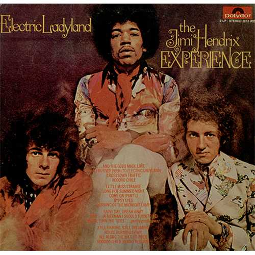 Jimi Hendrix Electric Ladyland 2-LP vinyl record set (Double Album) Indian HEN2LEL408124