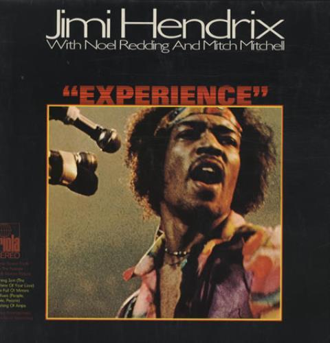 Jimi Hendrix Experience vinyl LP album (LP record) German HENLPEX343219