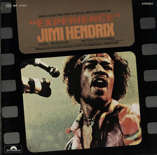 Jimi Hendrix Experience vinyl LP album (LP record) Japanese HENLPEX379893