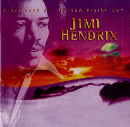 Jimi Hendrix First Rays Of the New Rising Sun CD album (CDLP) UK HENCDFI575090