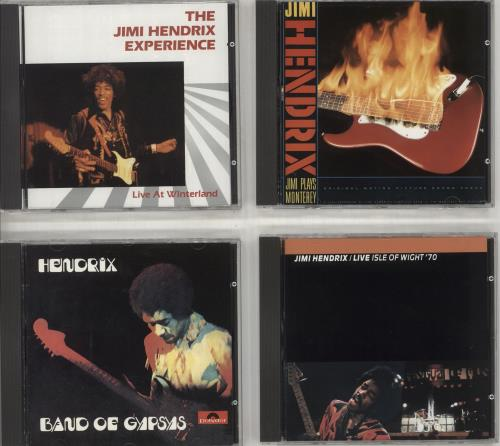 Jimi Hendrix Footlights - 4-CD Box Set CD Album Box Set German HENDXFO712933