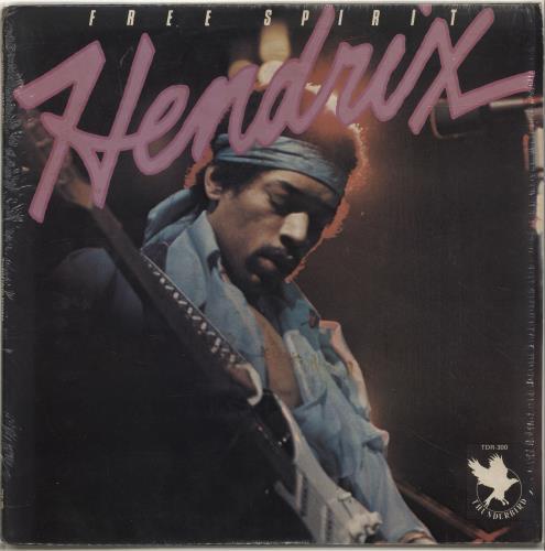 Jimi Hendrix Free Spirit - shrink vinyl LP album (LP record) US HENLPFR337633