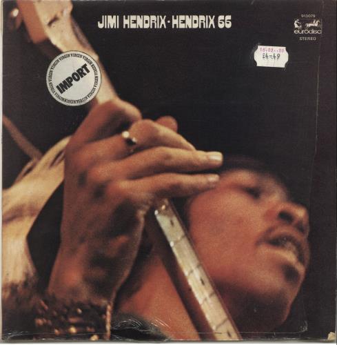 Jimi Hendrix Hendrix 66 - shrink vinyl LP album (LP record) French HENLPHE701422